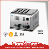 Hot Sale Stainless Steel Commercial Toaster with 4-Slice (HET-4)