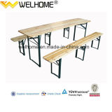 High Quality Folding Beer Table Sets with Three Legs
