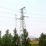 110 Kv Angle Steel Power Transmission Tower (corner tower)