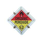 China Custom Made Aluminum Flip Safety Sign for Hazardous Materials