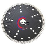 Turbo Wave Saw Blade for Cutting Building Materials