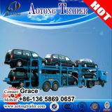 2 Axles Car Carrier Truck Trailer / Car Transport Semi Truck Trailer