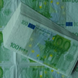Euro Money Paper Napkins T-Shirt Napkin Pre-Folded Party Napkins