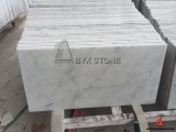 Bianco Carrara White Marble Flooring Tile with Grey Veins
