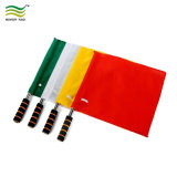 Custom Design 120GSM Knitted Digital Printing Polyester Soccer Referee Flag (J-NF10F02024)