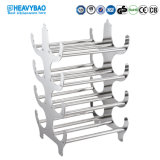 Heavybao High Quality Hotel Restaurant Stainless Steel Wine Rack