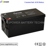 12V200ah Deep Cycle AGM Battery for Solar, UPS, Telecom, Inverter