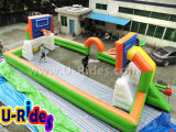 Distribution Price Sport Games Inflatable Basketball Field / Football Arena For Event