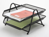 Metal Mesh Stationery File Tray/ Office Desk Accessories