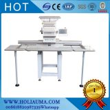Top Quality Single Head Embroidery Machine/ Shoes Tubular Flat Garment T-Shirt Embroidery Machine