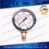 60mm 2.5'' Ss Oil Filled High Pressure Gauge with Integrated Bourdon Tube and Connection