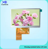 Full Viewing Angle 4.3 Inch TFT LCD Screen with 40 Pins
