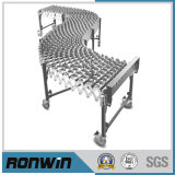 Middle Duty Flexible Expandable Skatewheels Conveyor for Flat Bottom Package Handling
