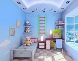 Hualong Non Toxic Emulsion DIY Children Room Paint Without Additives