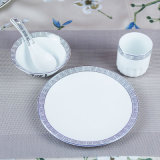 Wholesale Restaurant Ceramic Dinner Plate Set