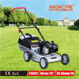 Richope High Efficiency Gasoline Lawn Mower with Straight Metal Blade