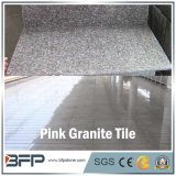 Cheap Pink Dark Stone Floor Tile Granite for Floor, Wall, Stair, Window Sill