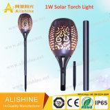 Outdoor Dancing Flame LED Landscape Lamp Solar Wall/Lawn/Torch Garden Light (SSL-AL-T96)