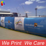 Indoor Outdoor Polyester Mesh Fabric Printing Fence Poly Banner
