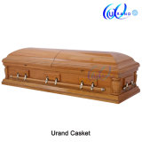 Oak Veneer Canadian Loved Models Chinese Casket and Coffin