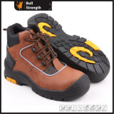Industry Leather Safety Shoes with Steel Toe Cap (SN5181)