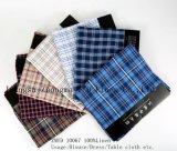 Classic Linen Fabric Zmyd 10067 L21*L21 Pure Linen Fabric Multi Plaid Textile