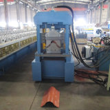 Industrial Sell Well Roofing Tile Half Round Profile Ridge Cap Customization Hydraulic Cutting Roll Forming Machine