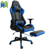 (AIHUA) Wholesale OEM Gaming Chair with Rectractible Footrest, Lumbar Support and Headrest