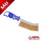 Industrial Wire Brush with Plastic Handle Knife Brush