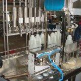 Bottle Liquid Paste Cream Sauce Jam Fill Capping Production Line Linear Type Automatic 4 Nozzle Filling Machine