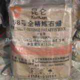 Wholesale Kunlun Fully Refined Paraffin Wax 58-60 Deg. C