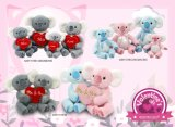 Valentine Animals Koala Plush Toy