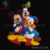 3D Cartoon Rubber Fridge Magnet as Souvenir