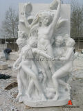 Natrual Granite Stone Carving Statue / Sculpture for Outdoor Garden