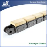 Roller Chain with Vulcanised Elastomer Profiles - 08B-G1