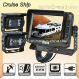 5inch Cruise Ship Camera Vision System with High Definition Camera