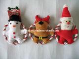 X'mas Rope Dog Toy Pet Plush Dog Product