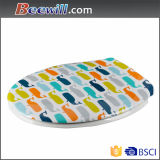 Customer Design Printed Soft Close Toilet Seat Fits Most Pans