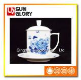 Bone China Cup with Cover of GB021