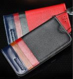 Folio Genuine Leather Flip Cover for iPhone/Apple/Samsung Optional