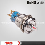 Hban (19mm) 2position with Arrow Indicator Metal Select Switch