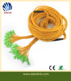 Sc/APC Single Mode Ribbon 12 Cores Optical Fiber Pigtail Manufacturer