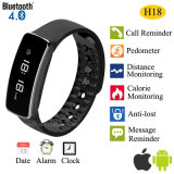 Bluetooth 4.0 Smart Bracelet with Pedometer Function (H18)