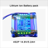 Rechargeable 14.8V 5.2ah Lithium-Ion Battery Pack