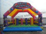 Inflatable Trampolines; Let's Party Jumper; Interactive Inflatables B1177