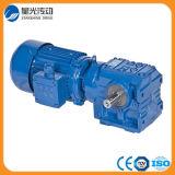 Saf67fy100m4-2.2-36.85-M1-B-Helical Worm Gear Reucer for Transport Line