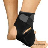 Contour Design Adjustable Ankle Support Sleeve with Crisscross Straps