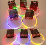 Wholesale Pet Products Flashing Doggy USB LED Lighted Dog Collar