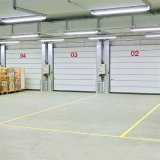 Remote Control Cheap Sectional Insulated Industrial Door