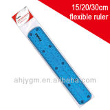 Good Quality 20cm Flexible Plastic Ruler with OPP Bag Packing
